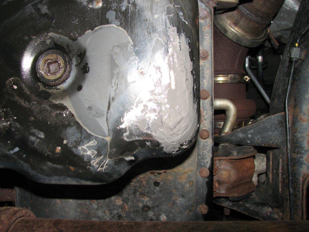 Benchtest Com - Garage - Replacing a Dodge Ram Diesel Oil Pan