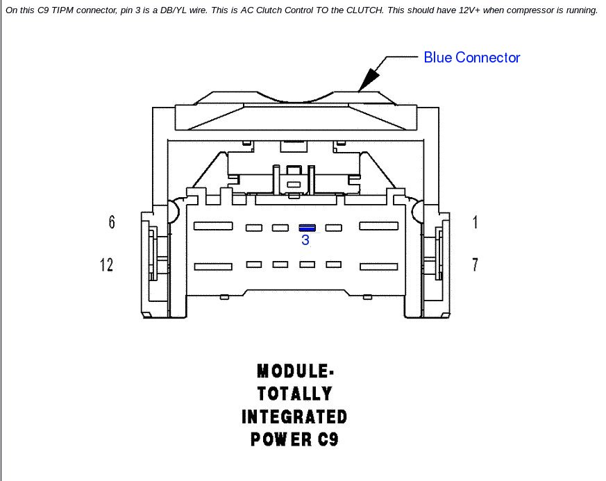 BenchtestCom Garage Repairing a Dodge Ram Air Conditioning – Dodge Ram 1500 Tipm Fuse Diagram