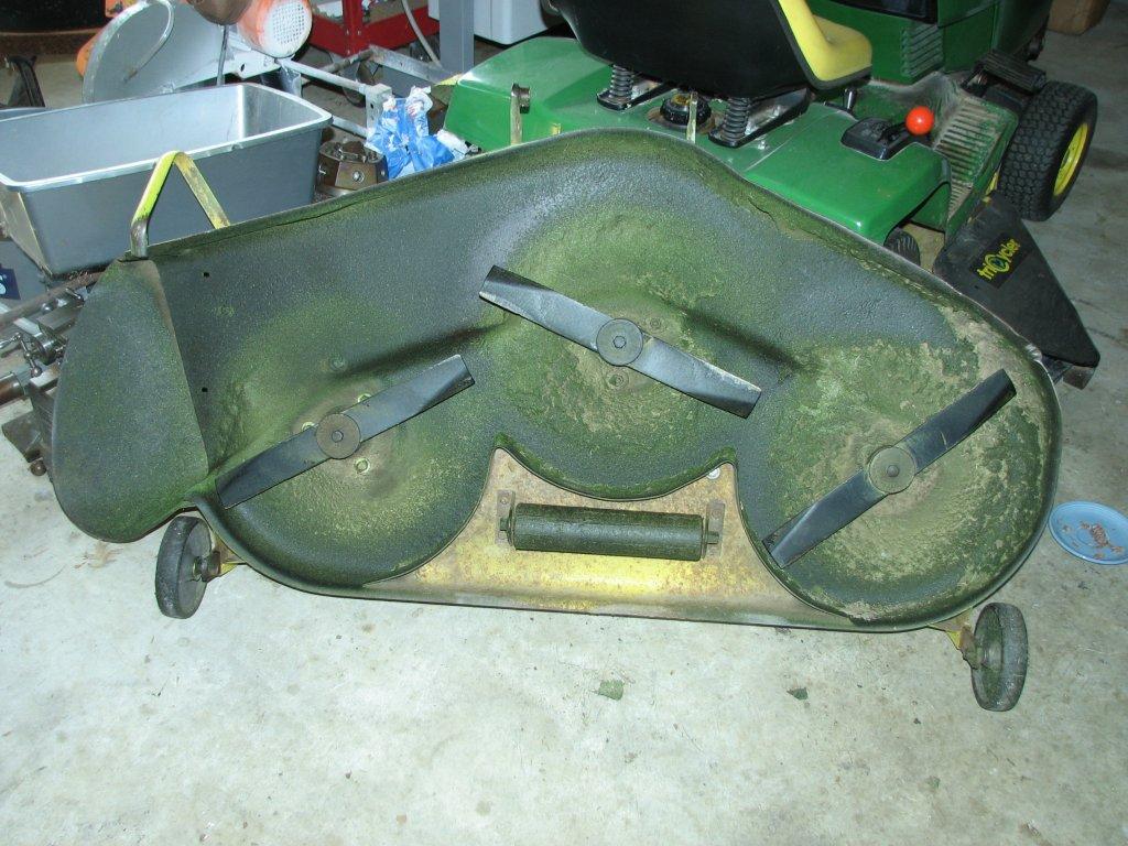 Garage John Deere 317 314 Wiring Harness Deck Bottom