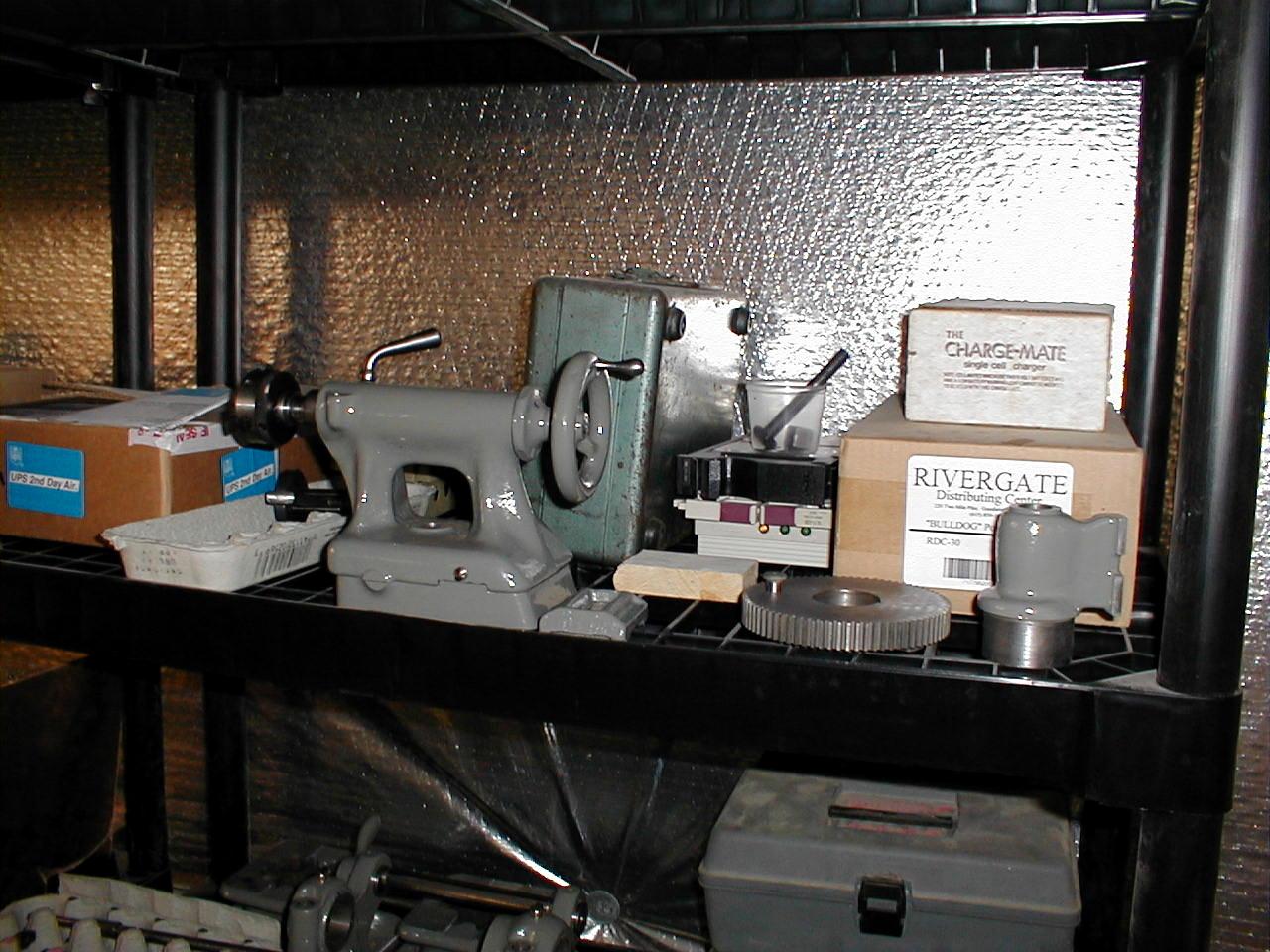 Benchtest Com - Workshop - South Bend 9 inch Lathe